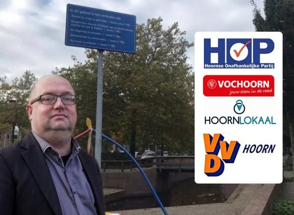 Vier Hoornse partijen hebben vragen gesteld over de problemen rondom station Kersenboogerd